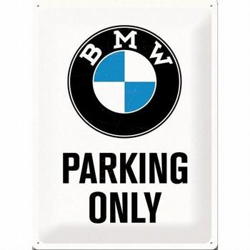 BMW Parking only relief wandbord  40 x 30 cm