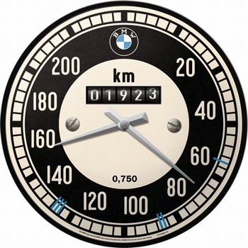 BMW teller wandklok  32 cm
