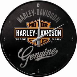 Harley Davidson Genuine klok 32 cm