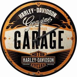 Harley Davidson Garage klok 32 cm