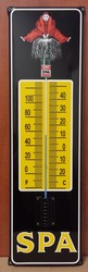 Spa emaille thermometer oor model 76x23cm