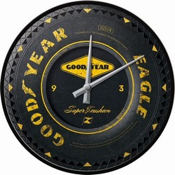 Goodyear wiel wandklok 31 cm