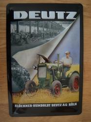 Deutz relief 30 x 20 cm