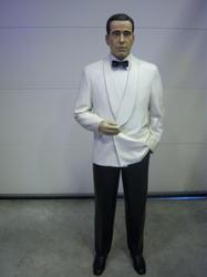 Humphrey Bogart levensgroot 1.90 m