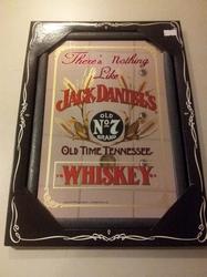 Jack Daniels Graan logo spiegel 30 x 20 cm