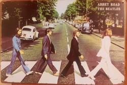 Beatles abbey road metaal 30 x 20 cm