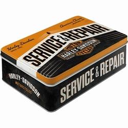 Harley Davidson Service en repair koekblik 23 x 16 x 7 cm