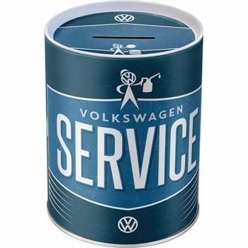 VW volkswagen service spaarpot metaal