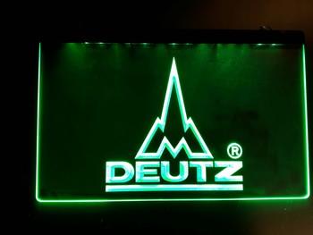 deutz led lamp groene led  30 x 20 cm
