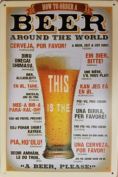 Beer around the world this is the metlen wandbord