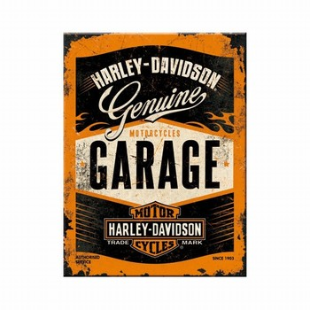 Harley Davidson Garage magneet