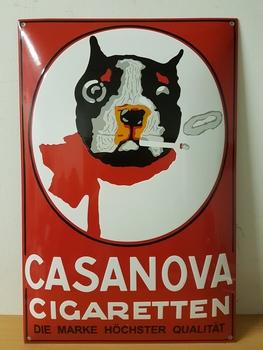 Casanova sigaretten  60 x 40 cm