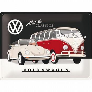 Volkswagen VW classics kever bulli relief reclamebor