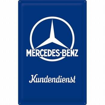 Mercedes kundendienst xxl reclamebord relief