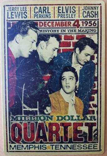Million Dollar quartet Elvis Lewis Perkins Cash reclam