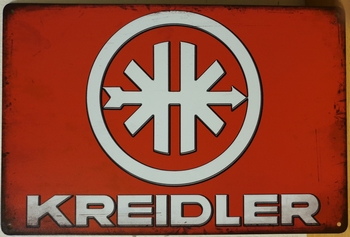 Kreidler Logo wandbord metaal