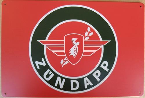 Zundapp logo metaal