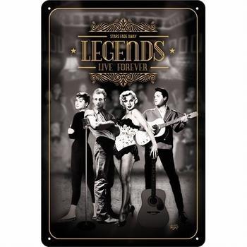 Legends live together marilyn monroe elvis james dea