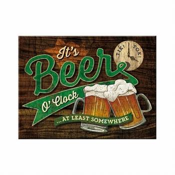 Beer o clock magneet