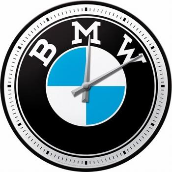 Bmw logo wandklok klok