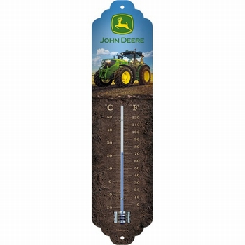John deer photo model 8370R thermometer metaal