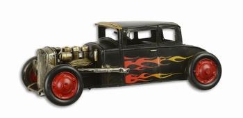 Hotrod auto metalen modelauto