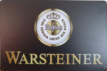 Warsteiner Logo reclamebord metaal