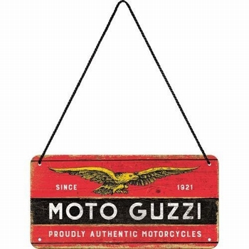 Moto guzzi logo metalen wandbord hanging sign