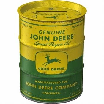 John deere oil barrel spaarpot