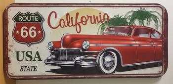 Route 66 California XXXL wandbord metaal
