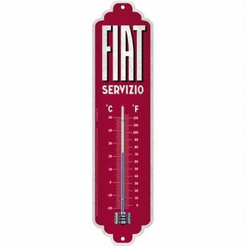 Fiat servizio thermometer metaal