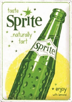 Sprite enjoy with lemons special edition relief bord