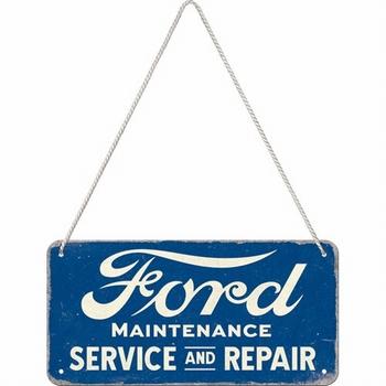 Ford service en repair hanging sign