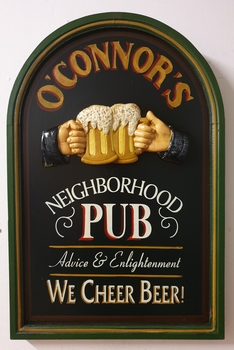 O connor's pub cheer beer engelse pubbord