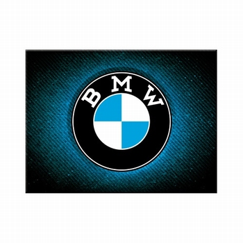 BMW blauwe logo magneet