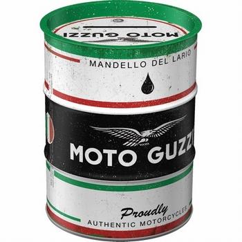 Moto guzzi spaarpot italian motorcycle oil barrel