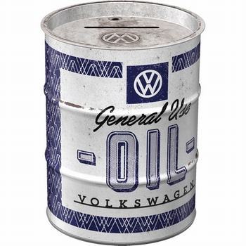 VW Volkswagen genuine oil barrel spaarpot