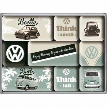 Volkswagen vw think tall set van 9 magneetjes