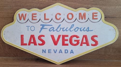 Welcome to las Vegas wandbord