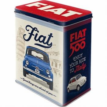 Fiat 500 good things are ahead voorraadblik