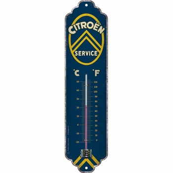 Citroën service metalen thermometer