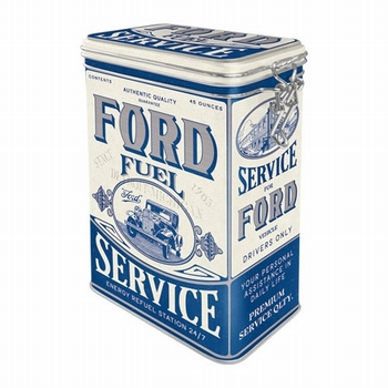 Ford fuel service clip box blik