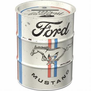 Ford mustang oil barrel spaarpot