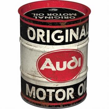 Audi oil barrel spaarpot