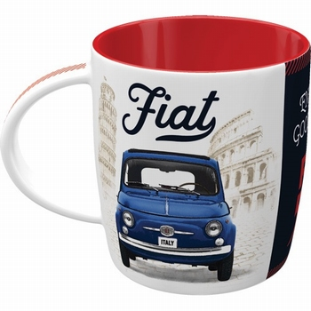 Fiat 500 good things are ahead mok