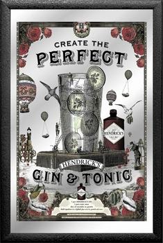 Perfect Hendrick's gin & tonic spiegel
