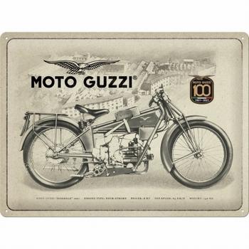 Moto guzzi 100 years anniversary special edition metaal