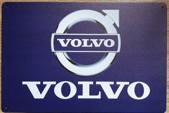 Volvo Logo reclamebord van metaal