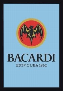 Bacardi rum Spiegel