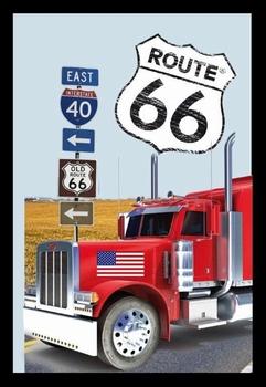 Route 66 vrachtwagen spiegel